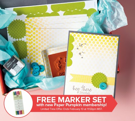 Paper Pumpkin January Kit and Special Offer!