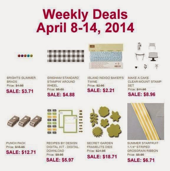 New Weekly Deals at Stampin' Up!