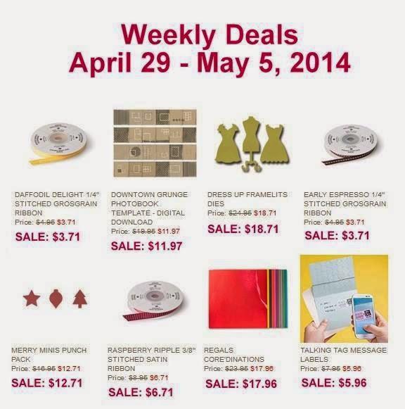 New Weekly Deals at Stampin' Up!