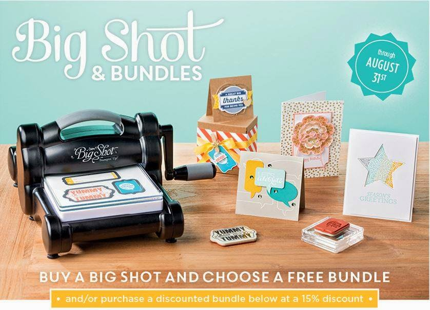 August Deals at Stampin Up!