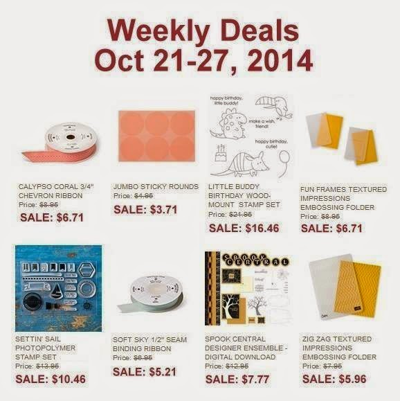 Weekly Deals and Stampin' Up! News!