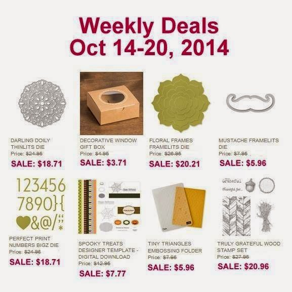 Weekly Deals and Stampin' Jackie News!