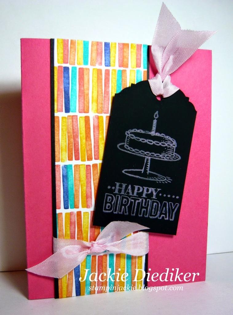 Chalkboard Happy Birthday!