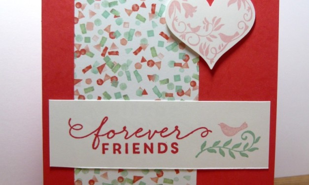 Pals Paper Arts Challenge – Friends Forever!