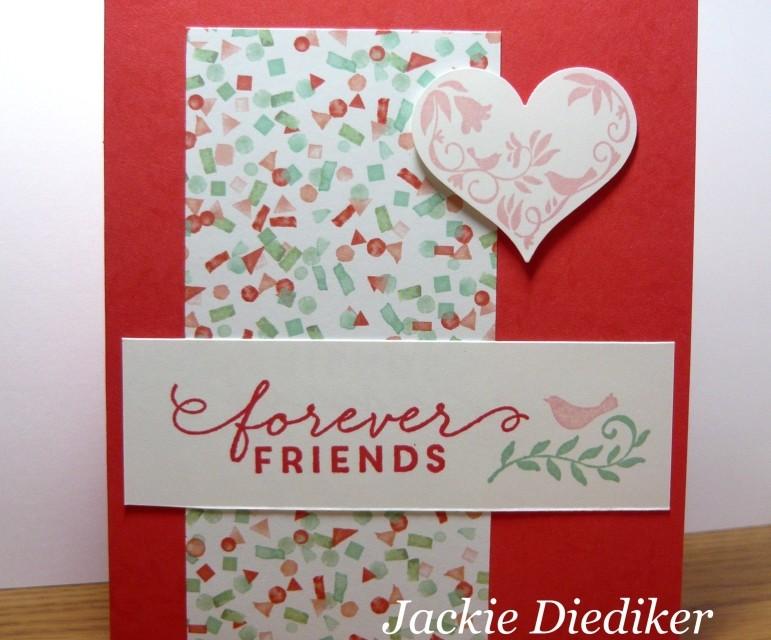 Pals Paper Arts Challenge – Friends Forever!
