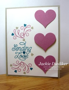 PPA309 Designer Tin of Cards Stamp Set Jackie Diediker Stampinup