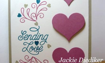 Pals Paper Arts Challenge #309 – Sending Love!