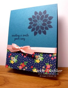 Sending A Smile Your Way Jackie Diediker StampinUp