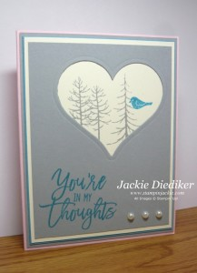 Thoughtful Branches Jackie Diediker StampinUp