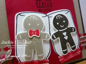 Cookie Cutter Christmas Jar of Cheer Jackie Diediker Stampinup Close Up