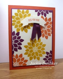 Crazy About You Jackie Diediker Stampin Up