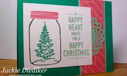 Pals Paper Arts Challenge 319 – Jar of Cheer!