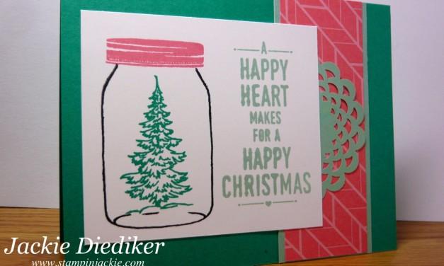 Pals Paper Arts Challenge 319 – Jar of Cheer!