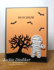 spooky fun and cookie cutter halloween jackie diediker stampin up