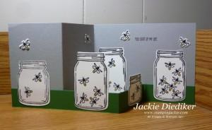 Jar of Love Double Z Fold Jackie Diediker StampinUp 3