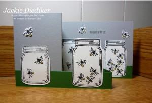 Jar of Love Double Z Fold Jackie Diediker StampinUp