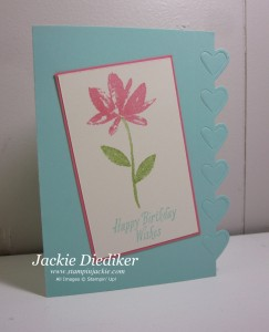 Avant Garden Jackie Diediker Stampin Up