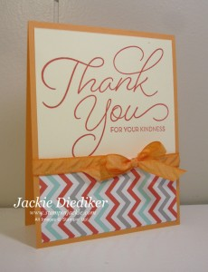 So Very Much Jackie Diediker Stampin Up