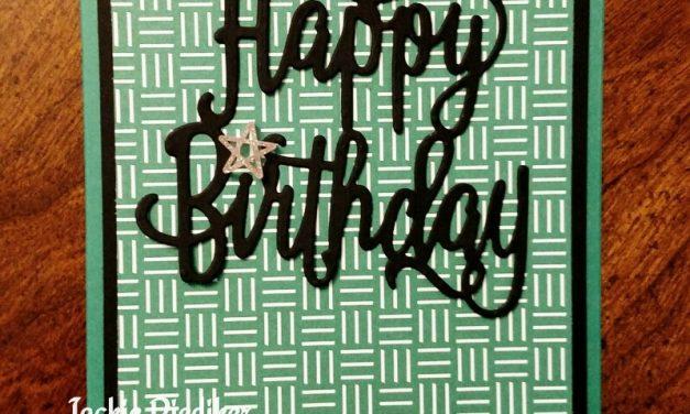 A Fun Happy Birthday!