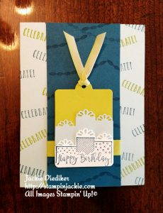 Celebration Time Lemon Lime Twist Jackie Diediker Stampin Up