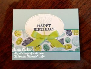 Oh So Eclectic Jackie Diediker Stampin Up