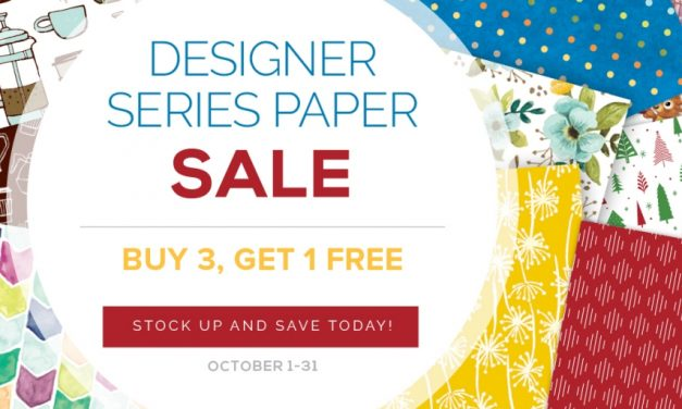 October News at Stampin' Up!