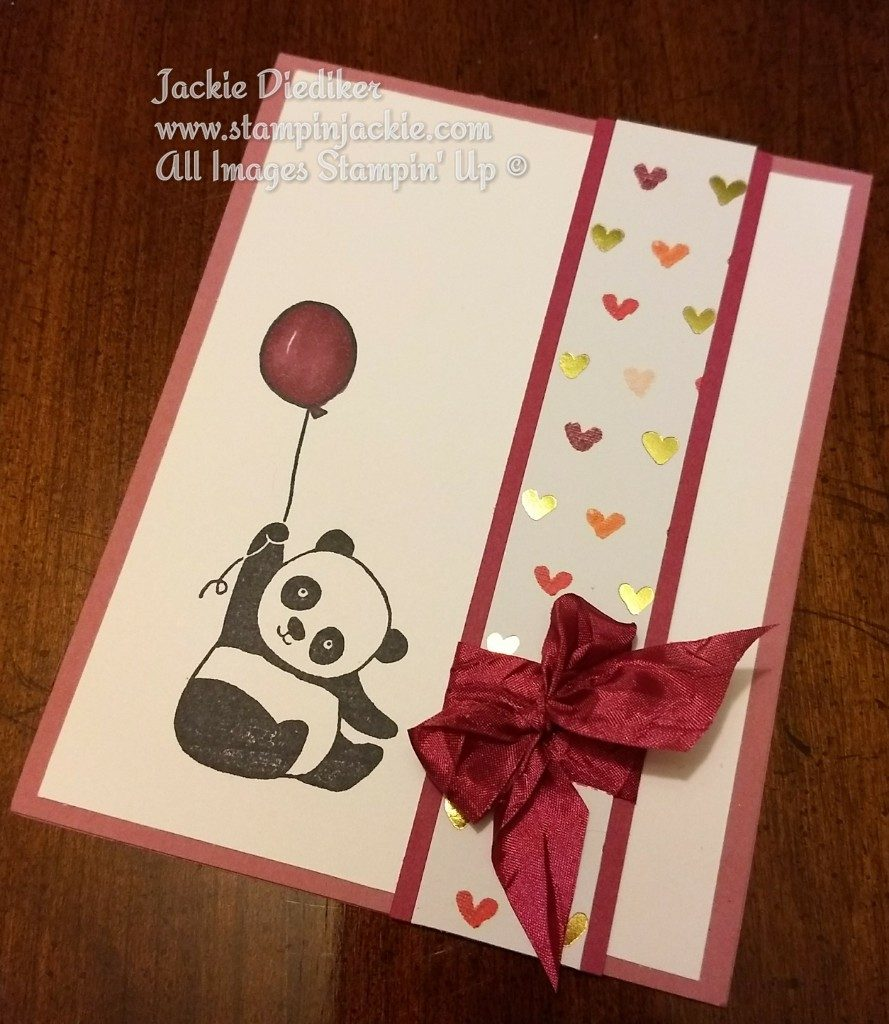 Panda Fun Jackie Diediker Stampin Up
