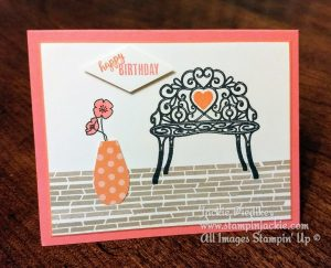 Sitting Pretty Right Stampin Up Jackie Dieidker