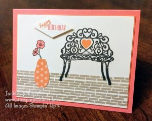Sitting Pretty Stampin Up Jackie Diediker